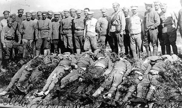 Большевики, убитые чехами под Владивостоком