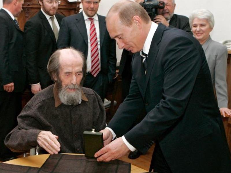 Путин и солженицын1
