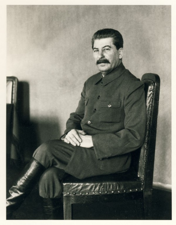 Сталин - фотосессия