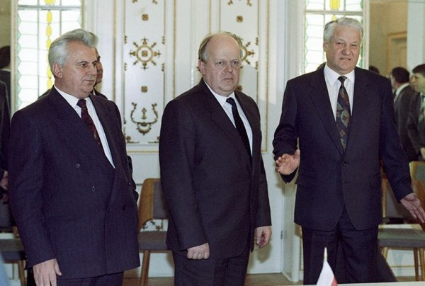 беловежское соглашение ельцин кравчук шушкевич1