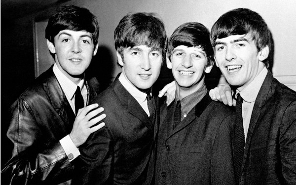 "Beatles on iTunes...BLACK AND WHITE ONLY. File photo dated 01/06/1963 of The Beatles (left - right) Paul McCartney, John Lennon, Ringo Starr and George Harrison as the group are going to be available on iTunes for the first time. PRESS ASSOCIATION Photo. Issue date: Tuesday November 16, 2010. The deal, which means the Beatles will be sold online for the first time, follows years of talks between record label EMI and Apple. Sir Paul McCartney said: ""We're really excited to bring the Beatles' music to iTunes. It's fantastic to see the songs we originally released on vinyl receive as much love in the digital world as they did the first time around."" See PA story SHOWBIZ Beatles. Photo credit should read: PA Wire"