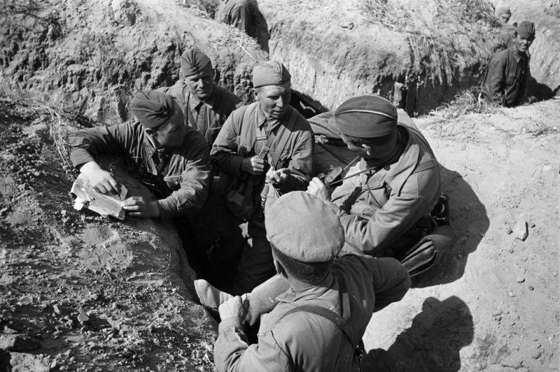 битва за сталинград - перерыв между боями
