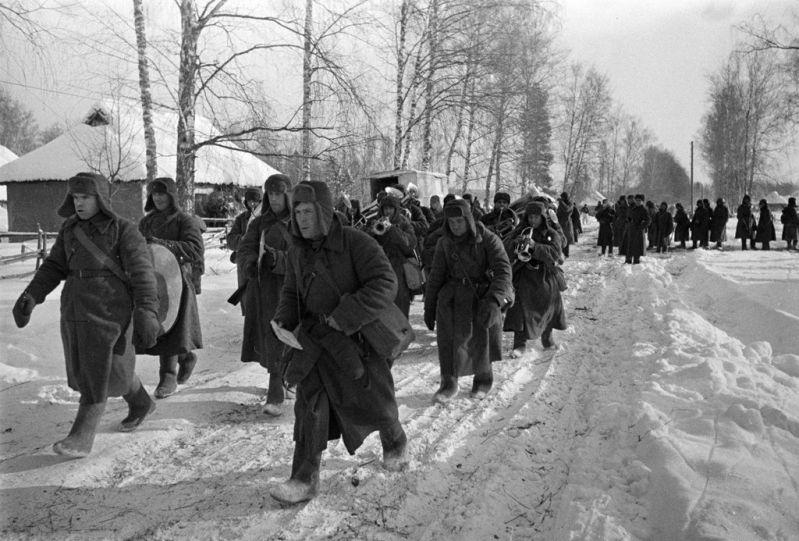 битва за сталинград - военный оркестр