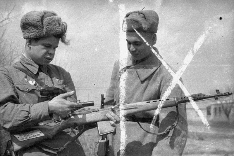 битва за сталинград - зайцев обучает новичка