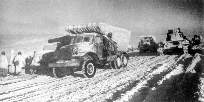 битва за сталинград64 - катюши