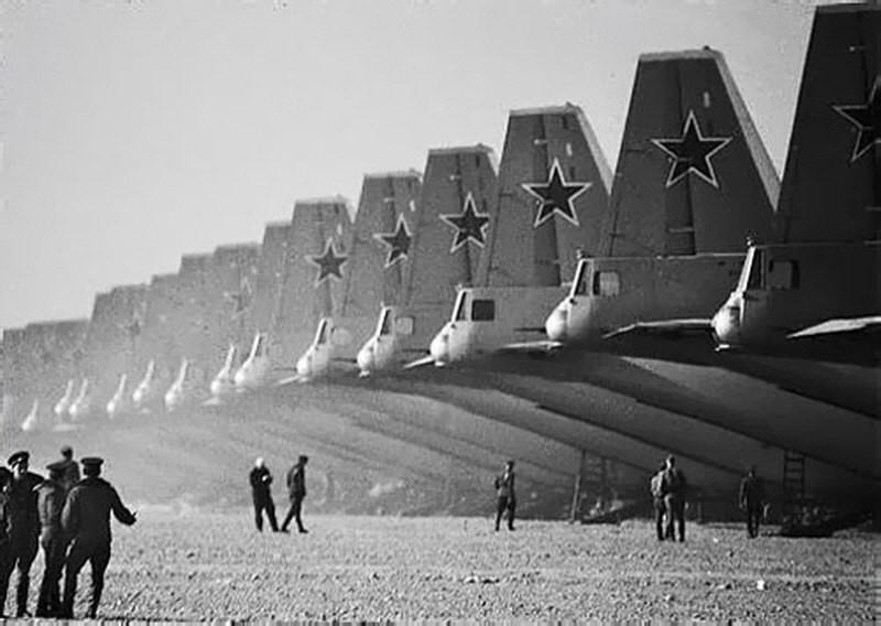 дальние бомбардировщики СССР