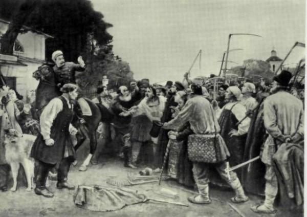 крестьянские волненя