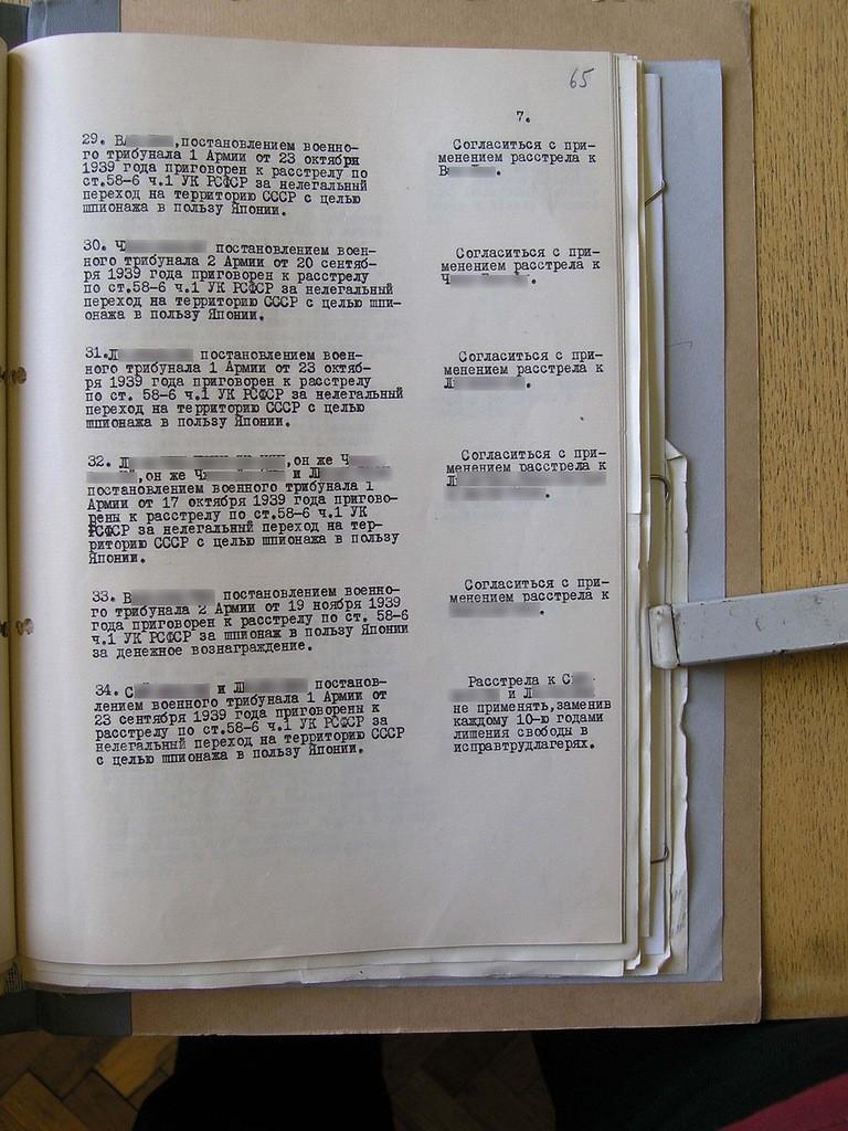 невинные жертвы сталинских репрессий-6