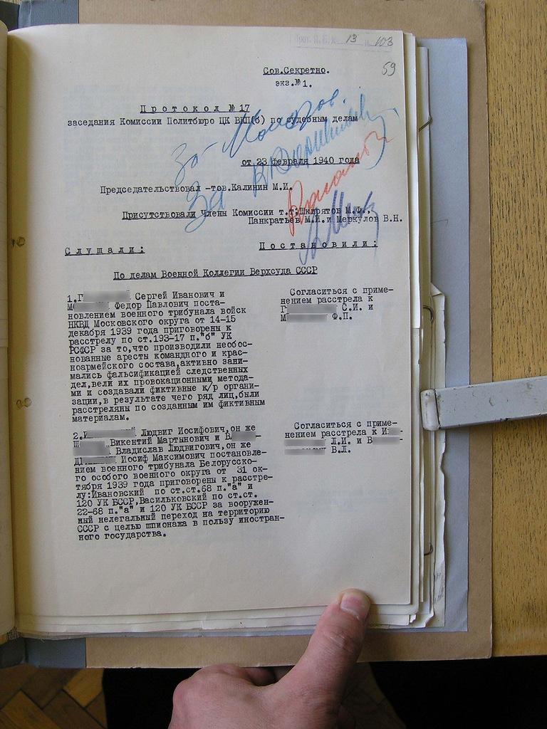 невинные жертвы сталинских репрессий