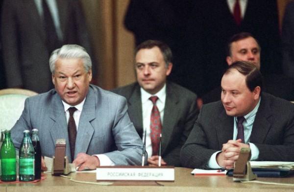 расстрел парламент 1993 ельцын
