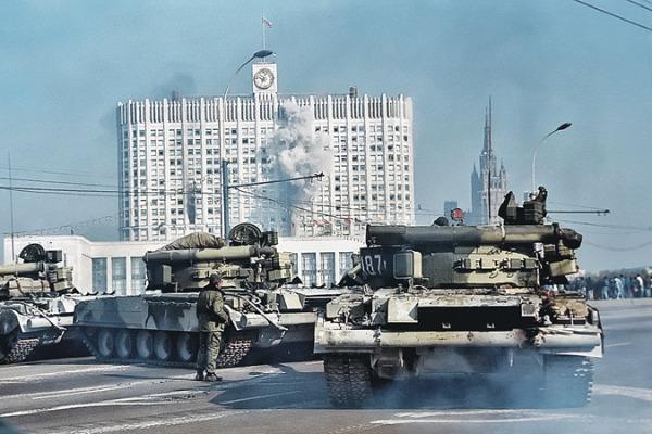расстрел парламент 1993