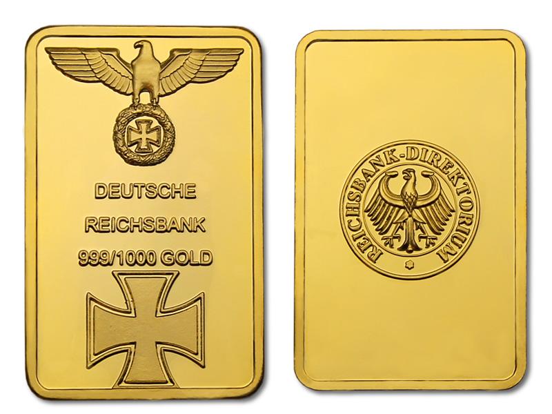 золото нацистов - слиток