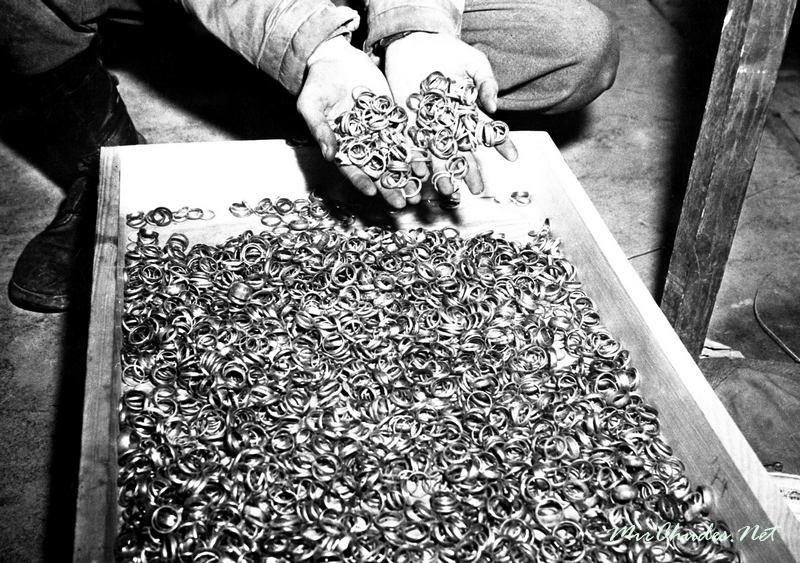золото нацистов в концлагерях собрано