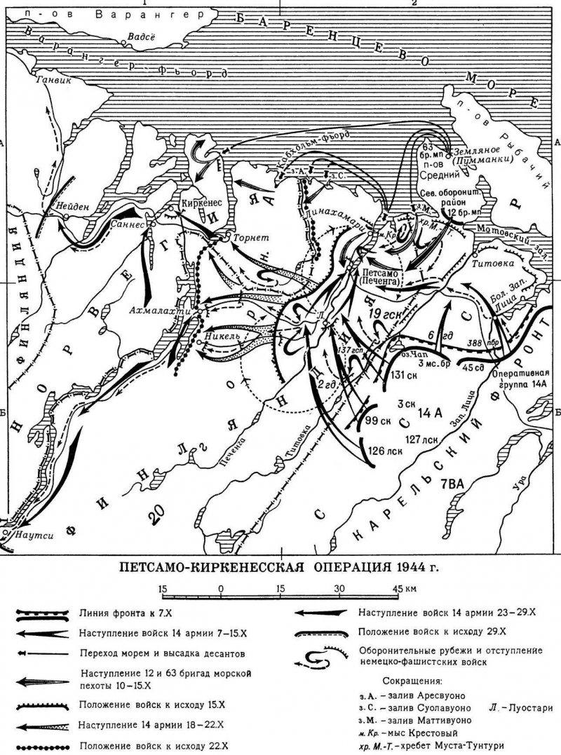 10-й сталинский удар - карта1