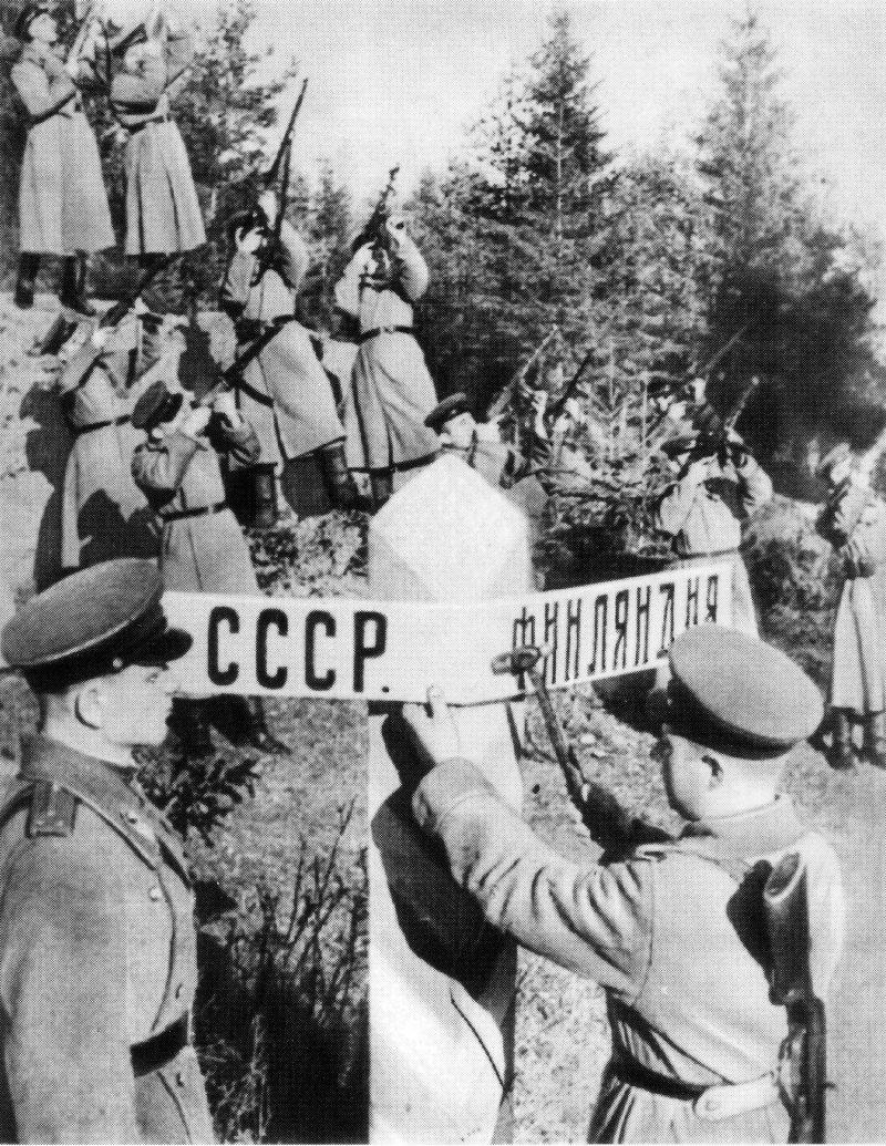 4-й сталинский удар граница с финами