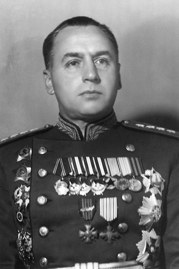 5-й сталинский удар Алексей Антонов, заместитель начальника Генерального штаба РККА, ведущий разработчик плана Белорусской операции
