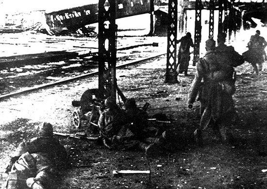 5-й сталинский удар Бой в районе вокзала. Витебск