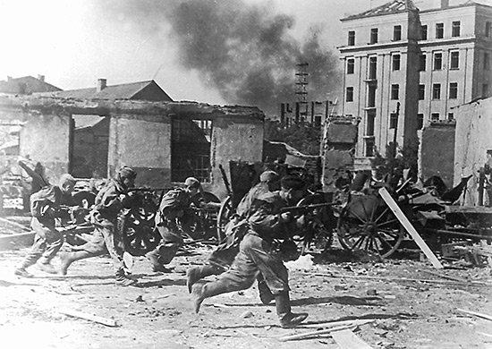 5-й сталинский удар Воины 49-й армии ведут бой на улицах Могилева