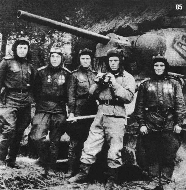 6-й сталинский удар Экипаж танка Т-34-76 Гвардия