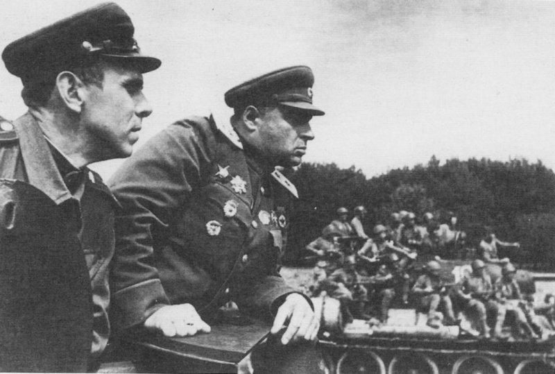 6-й сталинский удар Командир 4-го гвардейского танкового корпуса генерал-лейтенант Павел Павлович Полубояров