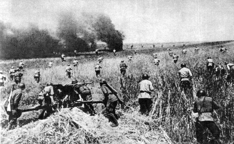 7-й сталинский удар Войска 2-го Украинского фронта ведут наступление под Яссами