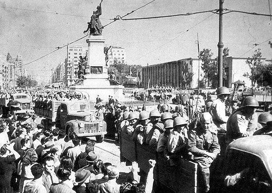 7-й сталинский удар колонна авто РККА