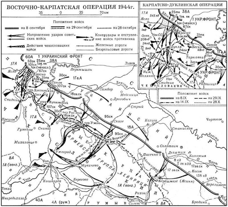 9-й сталинский удар - карта1