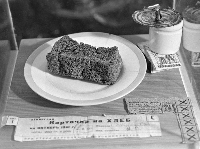Блокада Ленинграда - хлеб