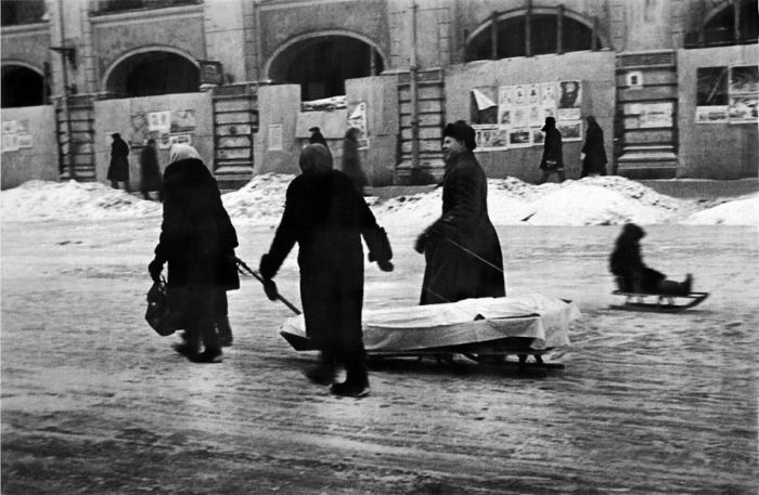 Блокадный Ленинград5