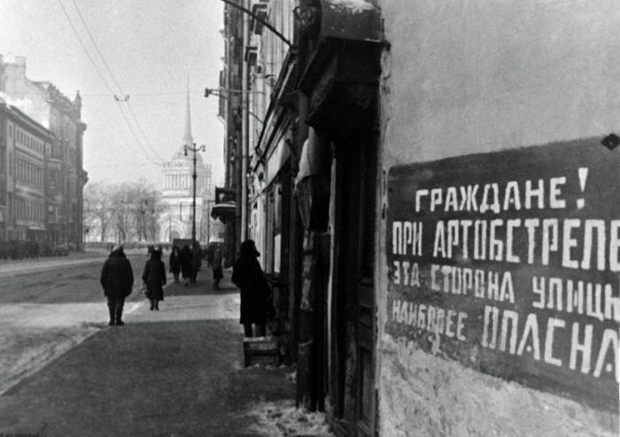 Блокадный Ленинград6