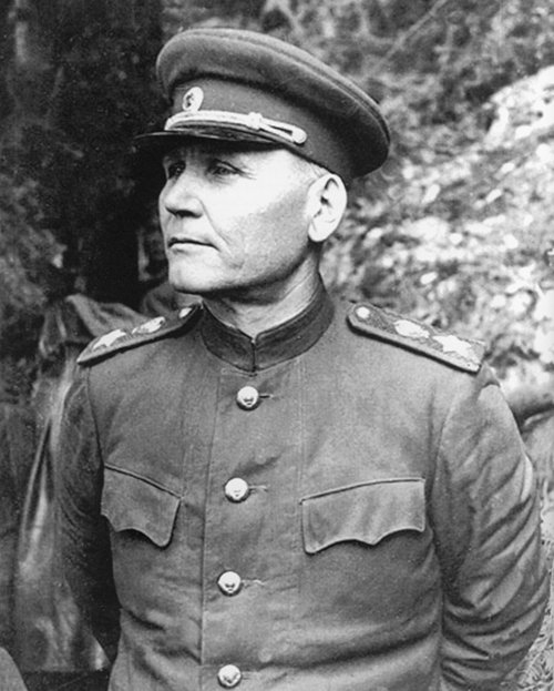 Маршал Советского Союза И. С. Конев.