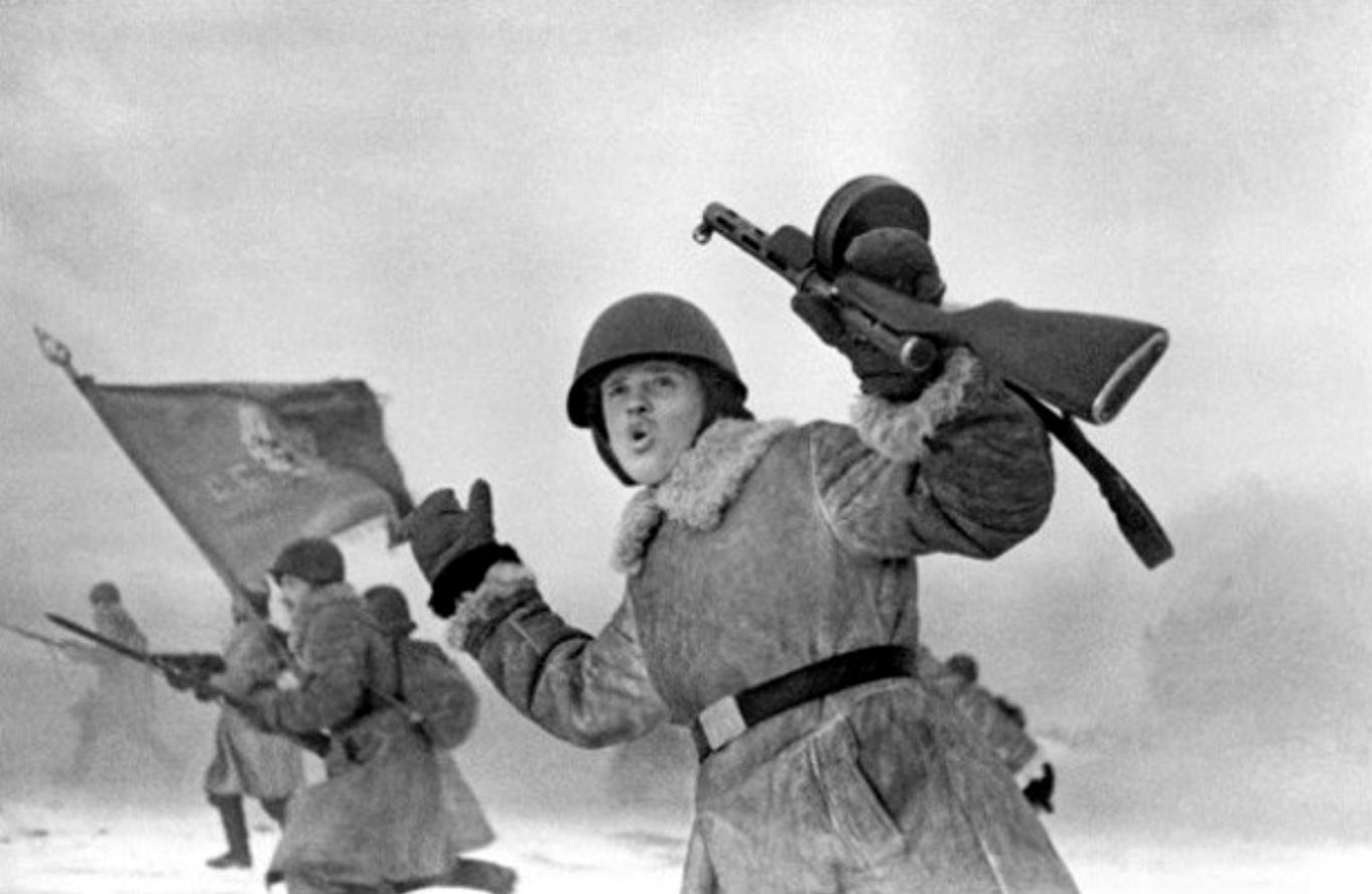 Операция Искра - снятие блокады Ленинграда