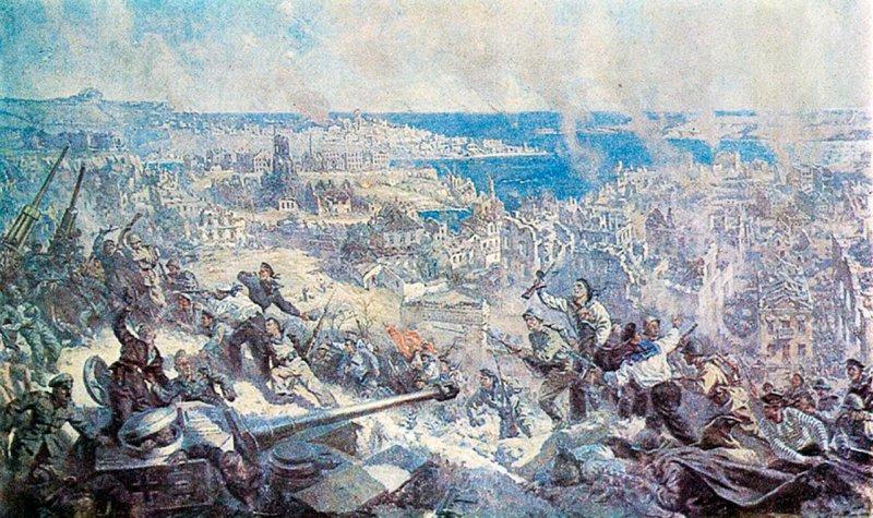 П.П. Соколов-Скаля. Освобождение Севастополя советской армией