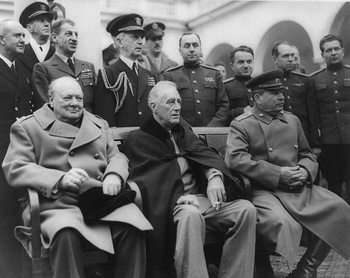 Сталин, Черчиль и ....