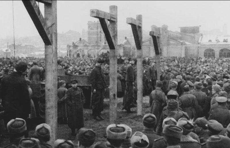 казнь фашистов Харьков 1943