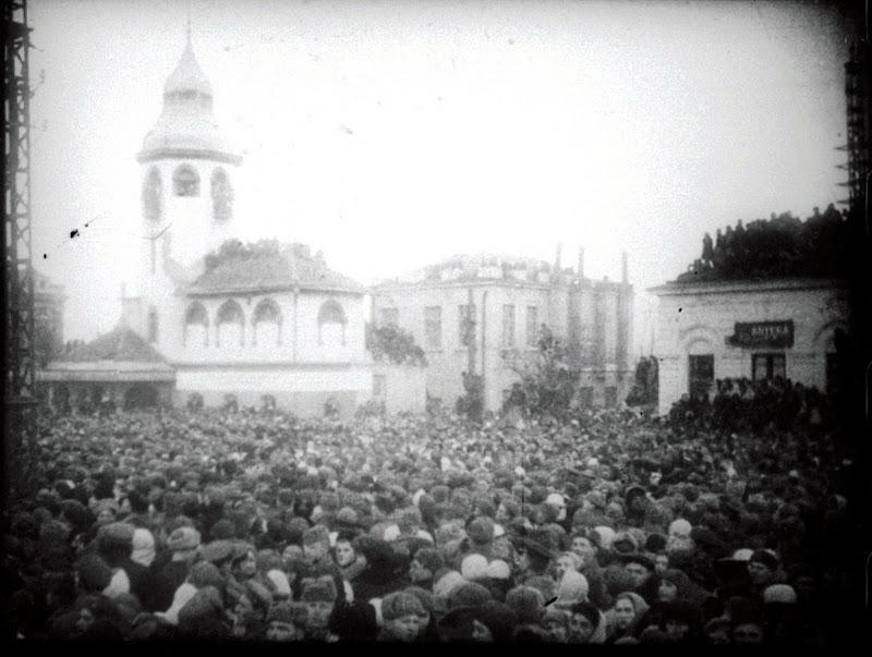 казнь фашистов Николаев 1946