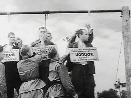 казнь фашистов в Краснодаре2