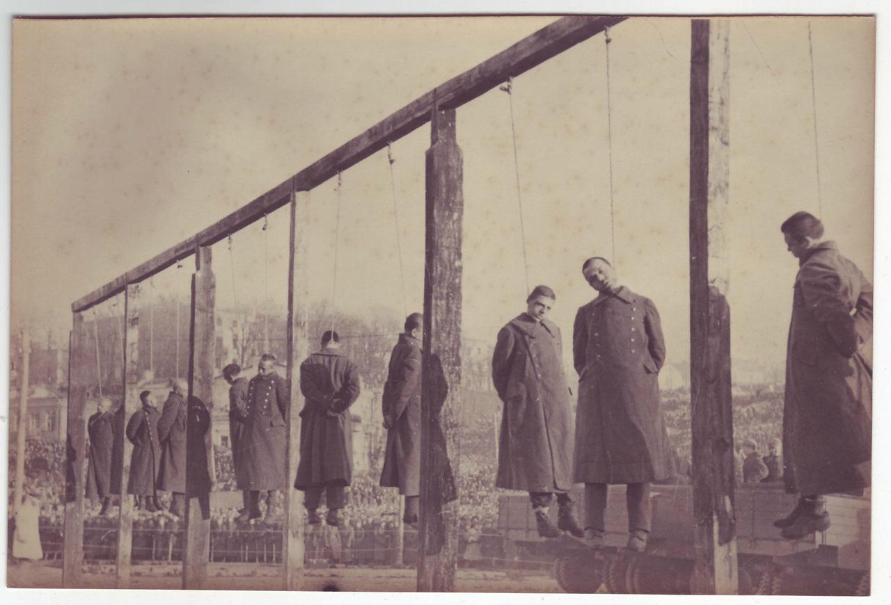 казнь военных преступников на Украине 1946 год-6