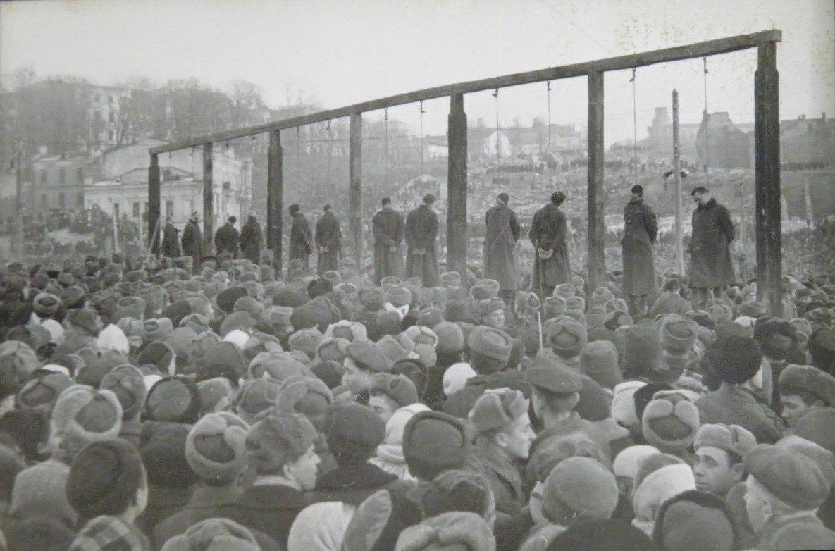 казнь военных преступников на Украине 1946 год-9