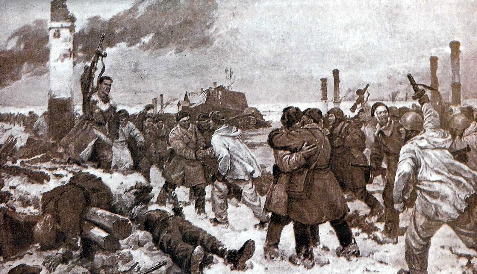 операция Искра освобождение Ленинграда