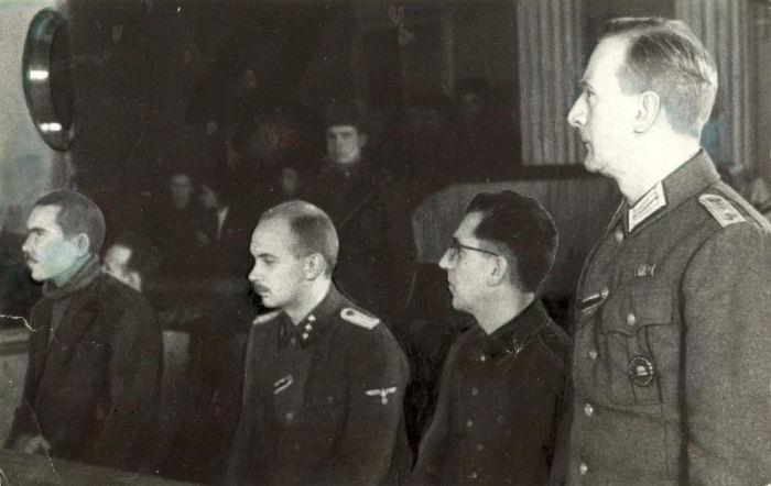 суд и казнь фашистов Харьков 1943