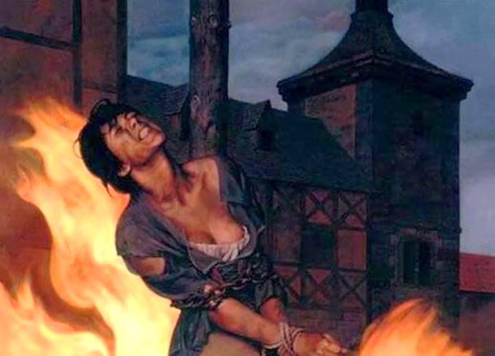 в европе сжигали женщин2