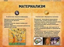 Идеализм и материализм