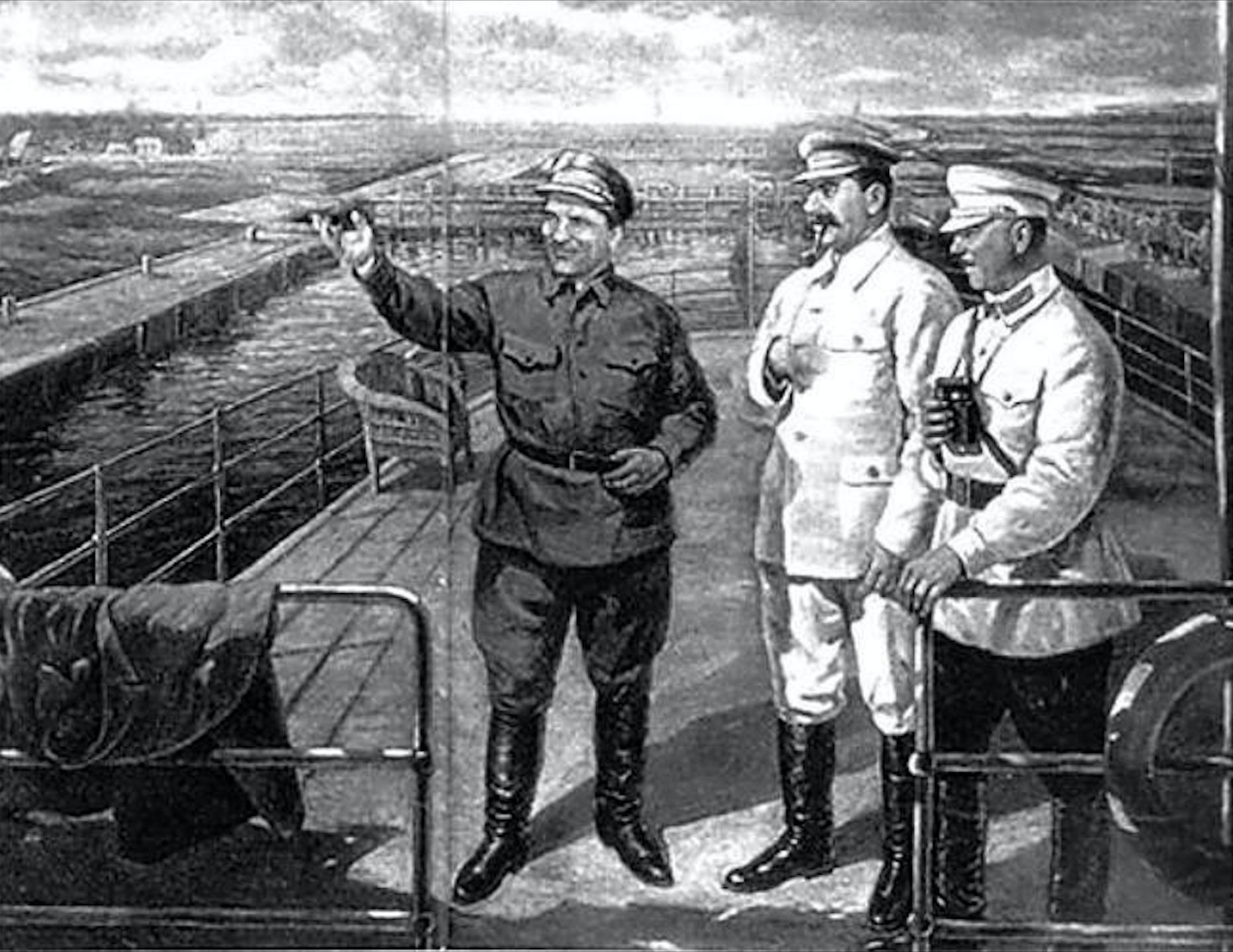 Сталин и беломорканал1