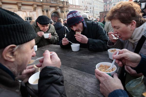 еда для бедных