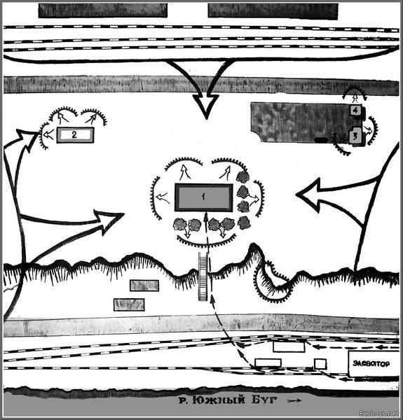 героический десант Ольшанского схема