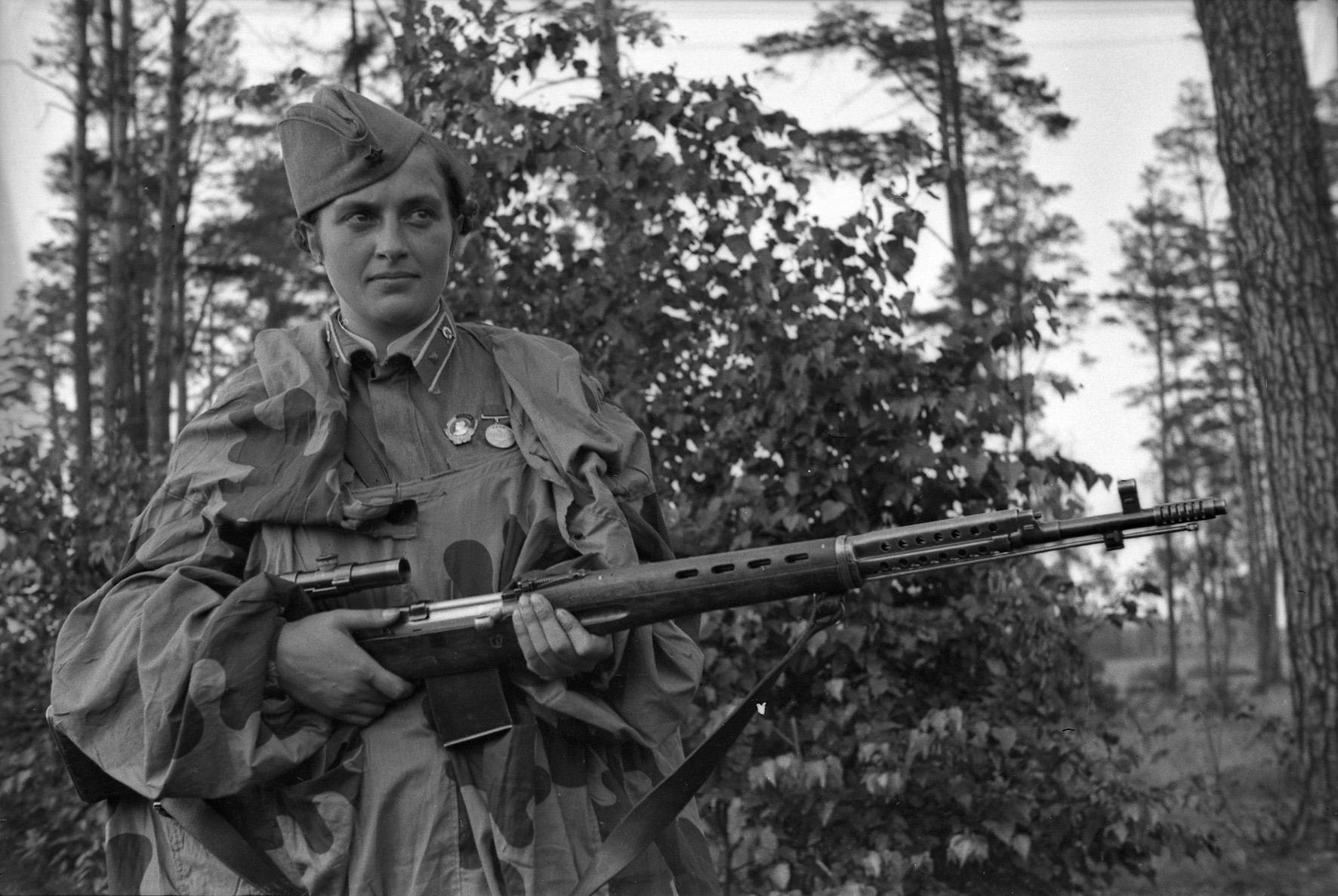 павличенко снайпер