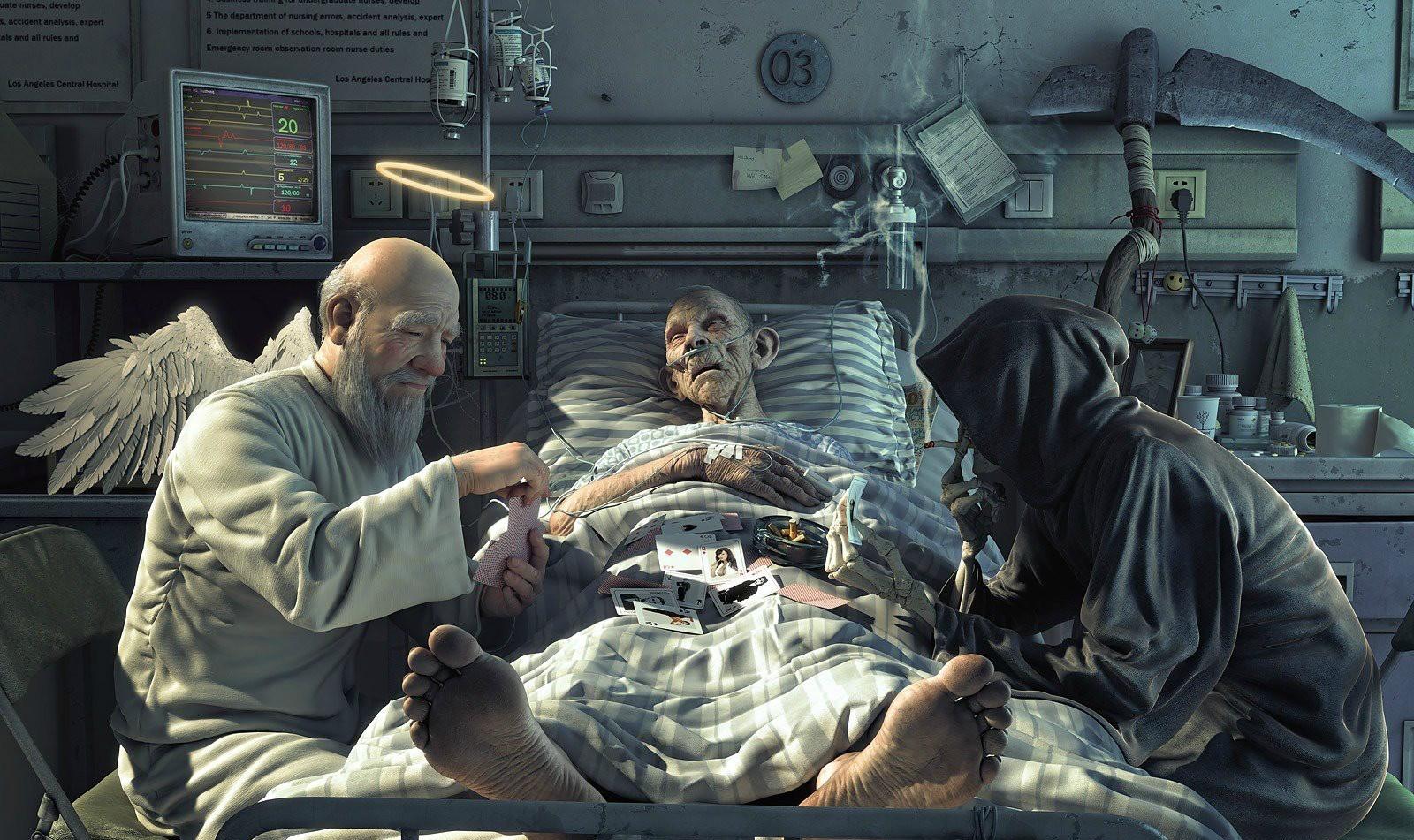 смерть от гриппа