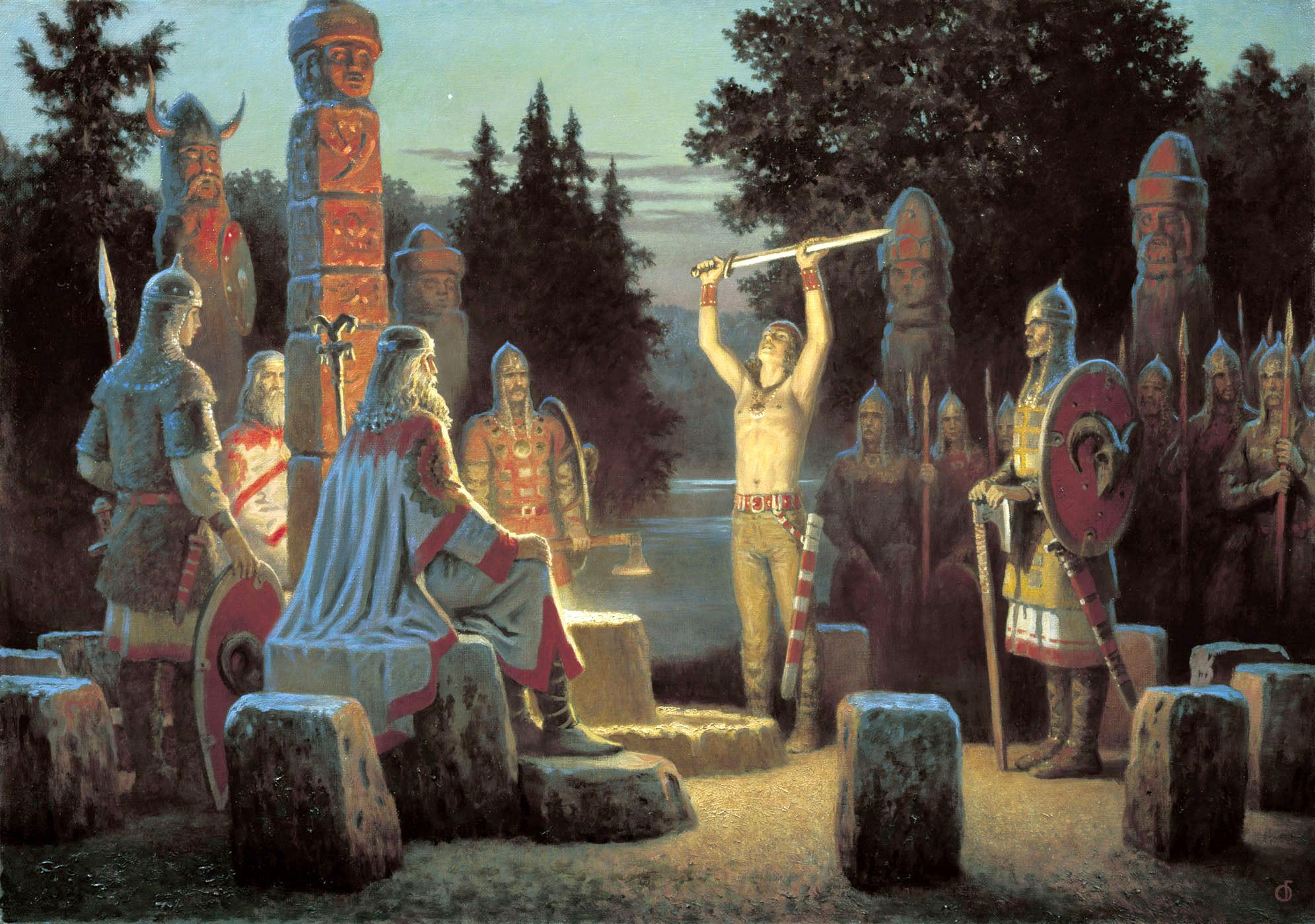 10 невероятных фактов о древних славянах3