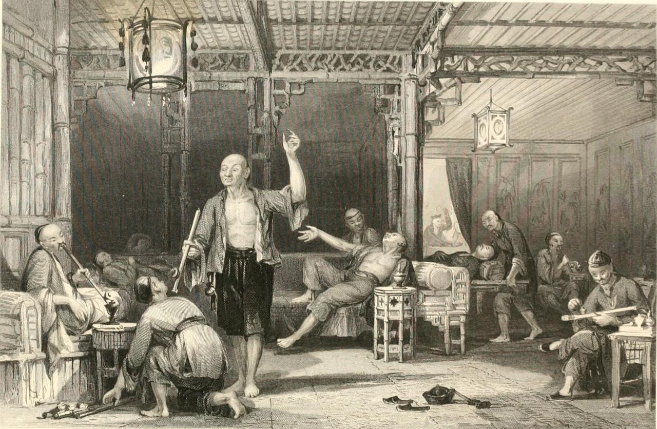 Как Англия травила Китай наркотиками1
